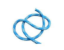 Sailing Rope / Boat Rope, Polyester Braided Blue & White