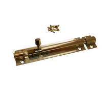 Brass Marine Latch Bolt 100mm / Barrel Bolt / Boat Locker Latch