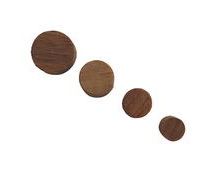 Teak Dowel Plugs For Covering and Making-Good Screwed Joints