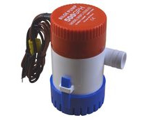 12V Bilge Pump, 500 Gallons Per Hour, Submersible.