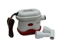 Automatic Bilge Pump, 500 Gallons Per Hour, 12V, Submersible