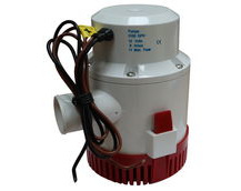 Automatic Bilge Pump, 3100 Gallons Per Hour, 12V, Submersible