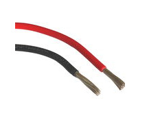 Marine Electrical Wire, Single Core Tinned Electrical Wire, Pre-Tinned Wire (Oceanflex Wire) Red or Black